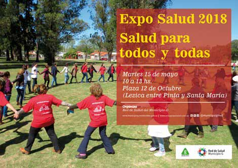 afiche expo salud 2018