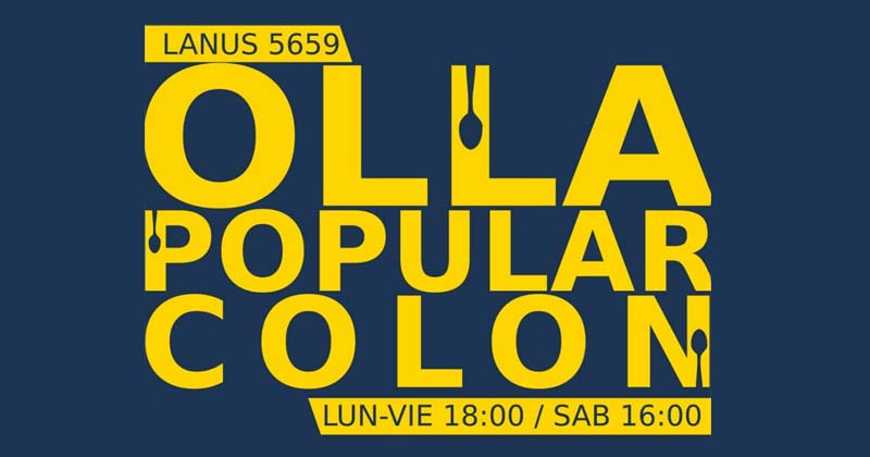 olla popular colon 2020