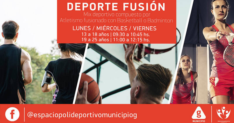 deporte fusion polideportivo