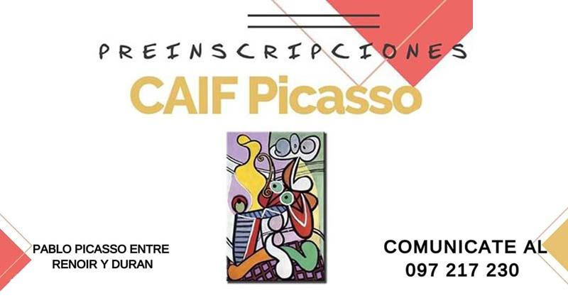 Caif Picasso 2019